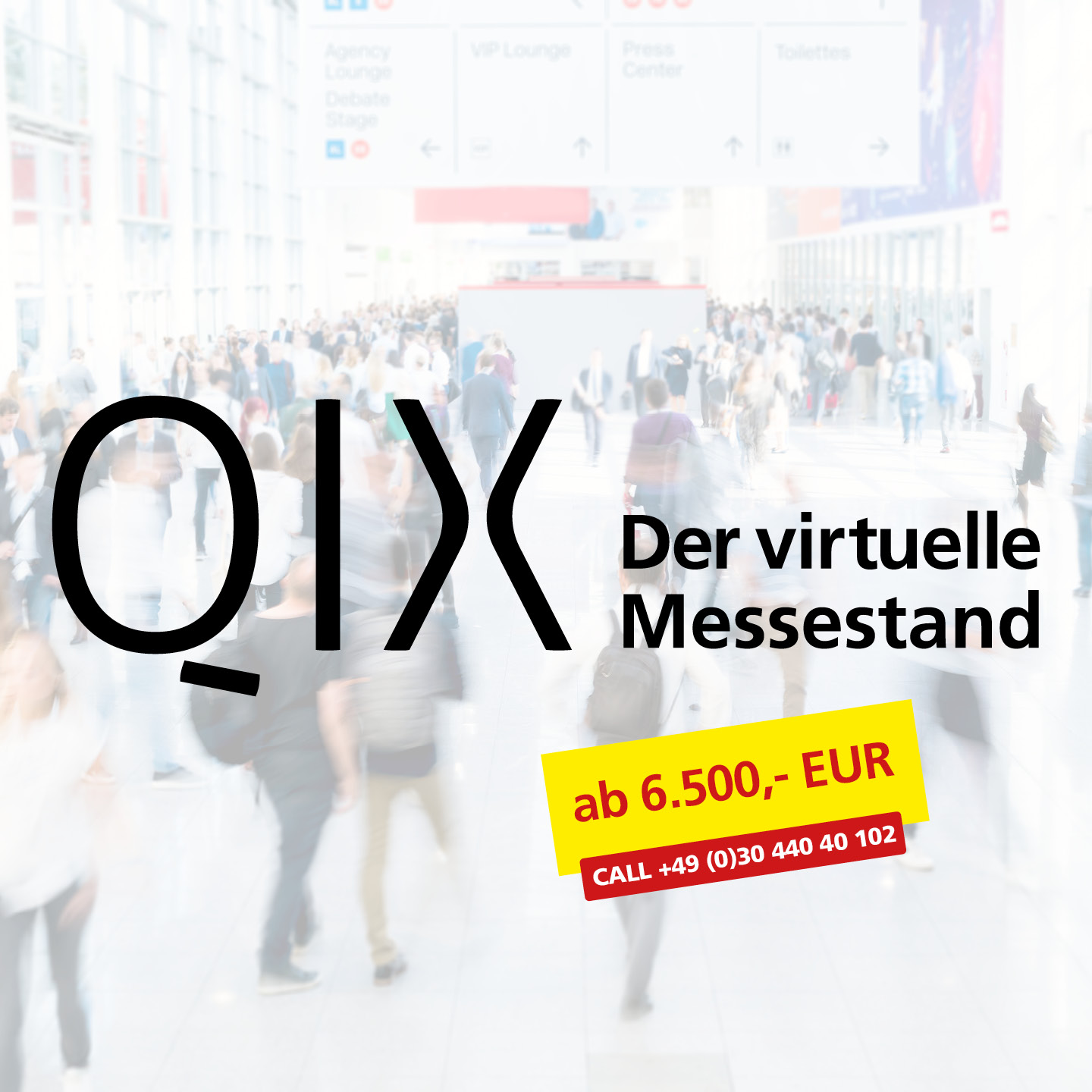QIX der virtuelle Messestand ab 6.500 Euro